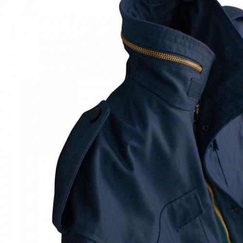 Alpha Industries M65 field jacket usa navy LONG JOHN (4)