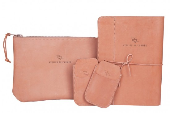 Atelier de l'armee Bags leather natural products veggie tan authentic original Joost en Elza LONG JOHN (1)