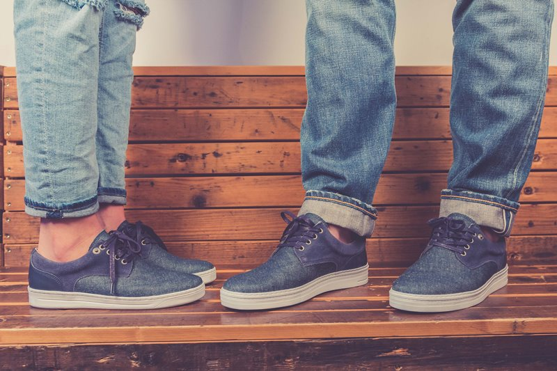 BLUEDAYS -  Brogue Lee men only fall winter 2016 blue days footwear long john blog shoes denim jeans blue indigo holland yanto drogt  (6)