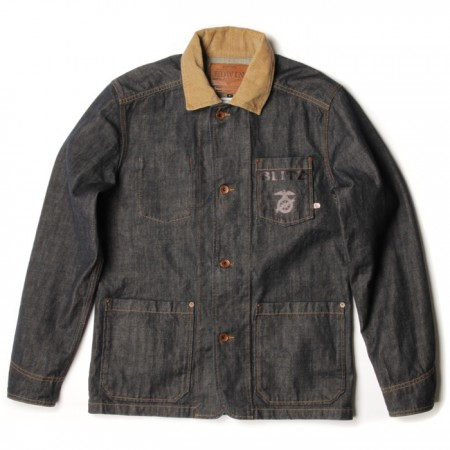 Blitz motorcycle Edwin jeans denim shirts sweat collab products vintage LONG JOHN (4)