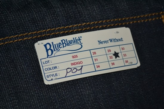 Blue Blanket Jeans denim Antonio di Battista Get Lost srl Italy Pescara authentic brand LONG JOHN Men's File archive book (13)