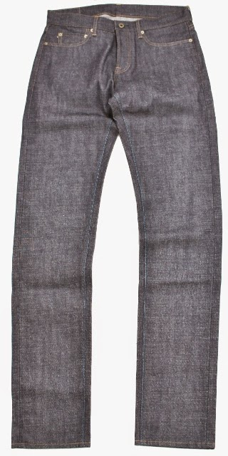 """Cote d'Ivoire Cotton Jeans"""" in  their denim brand """"JAPAN BLUE JEANS long john blog blue selvage 2014 selvedge rigid raw unwashed project (3)"""