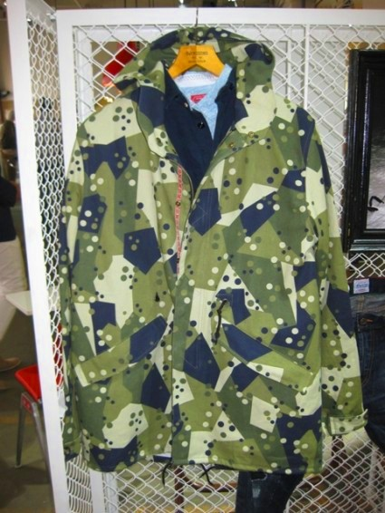 Denim Demon jeans denim Oskar Sommarlund Sweden Stockholm camo jacket spring summer 2013 authentic LONG JOHN (5)