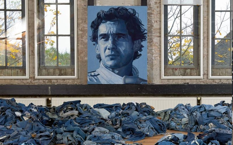 Denimu_Art_SennaSempre ian berry denimu long john blog icons faces denim jeans handmade hand made elvis presley james dean marilyn monroe music artist artiest kunt kunstenaar (1)