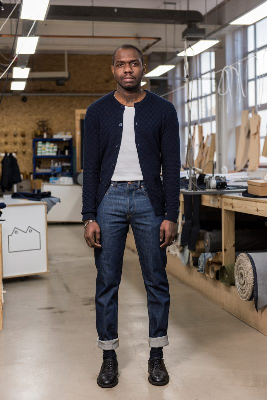 E5-Relaxed-Tapered-Jean-14_5-oz-Organic-Front-Lifestyle-e1481892123726