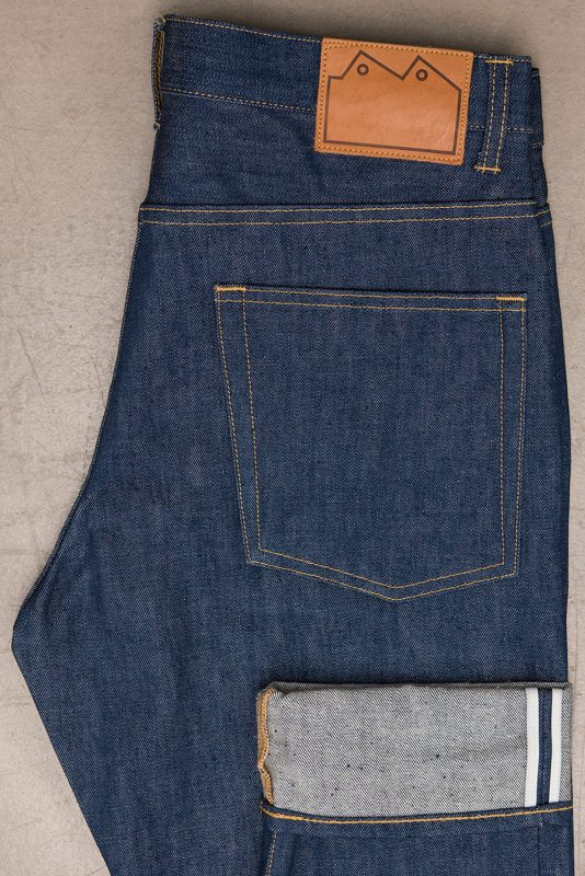 E5-Relaxed-Tapered-Jean-14_5-oz-Organic-Patch-Pocket-Cuff-blackhorselane blackhorse longjohn uk england selvage selvedge (1)