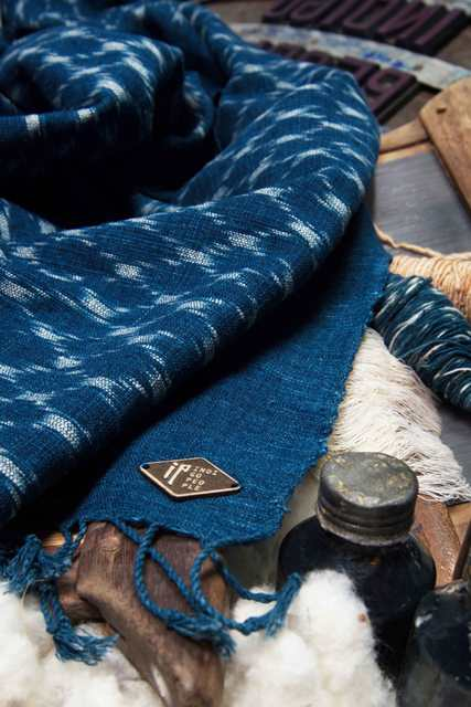 INDIGO PEOPLE SPRING 2016 COLLECTION long john blog blue jeans denim shawls scarf scarfs sjaal holland handmade blauw special summer kiat (13)
