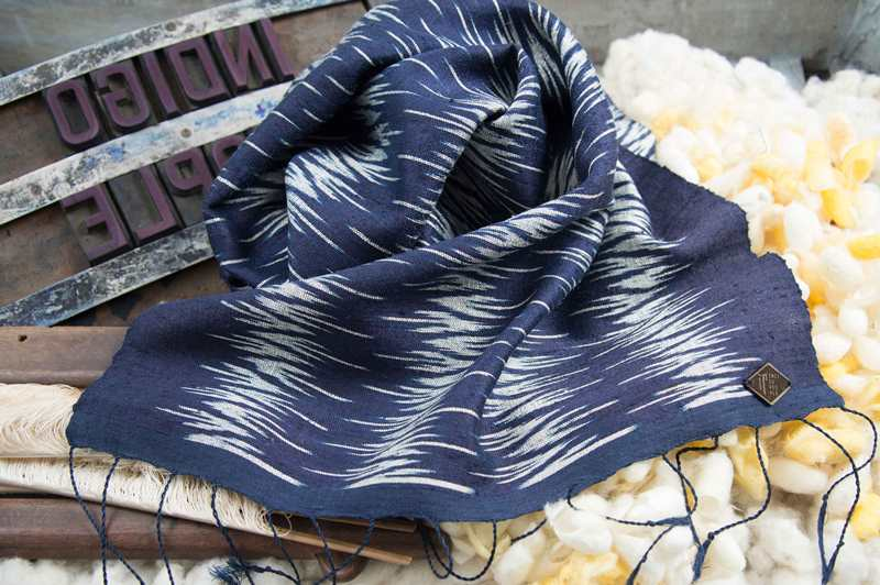 INDIGO PEOPLE SPRING 2016 COLLECTION long john blog blue jeans denim shawls scarf scarfs sjaal holland handmade blauw special summer kiat (5)