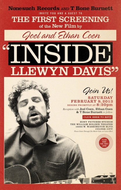 Inside Llewyn Davis Trailer Coen brothers movie films LONG JOHN
