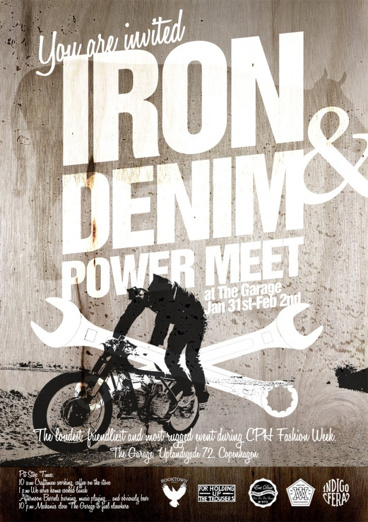 Iron & Denim Power Meet at The Garage in Copenhagen LONG JOHN