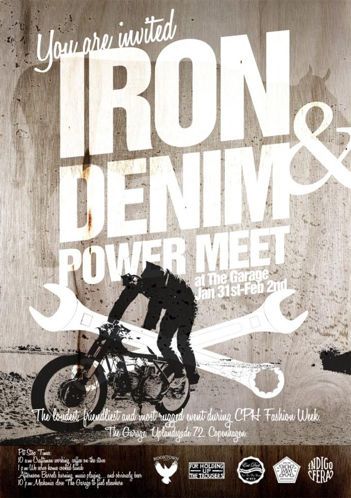 Iron & Denim Power Meet at The Garage in Copenhagen LONG JOHN