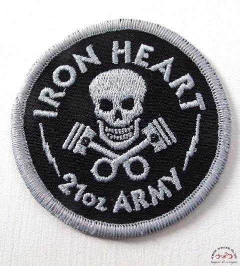 Iron Heart Denim badges stickers jeans denim LONG JOHN (2)