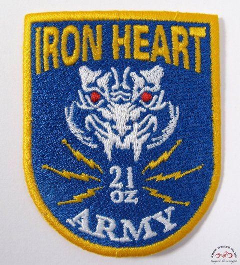 Iron Heart Denim badges stickers jeans denim LONG JOHN (4)