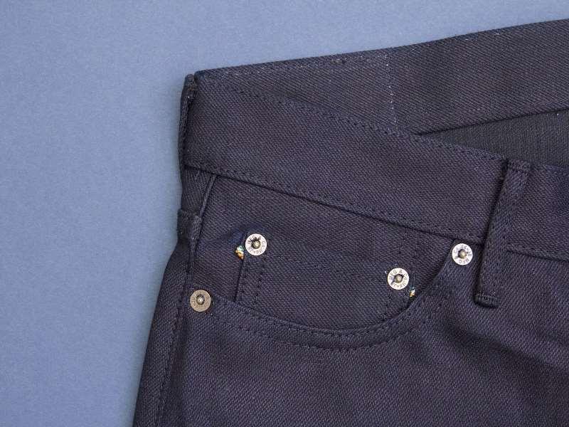 Japan Blue x Tenue de Nîmes Côte d'Ivoire Cotton 'Indigo x Black' Jeans long john blog collab selvage selvedge 2016 limited edition special japan (4)