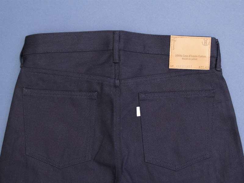 Japan Blue x Tenue de Nîmes Côte d'Ivoire Cotton 'Indigo x Black' Jeans long john blog collab selvage selvedge 2016 limited edition special japan (5)