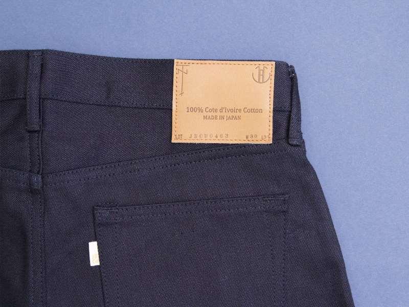 Japan Blue x Tenue de Nîmes Côte d'Ivoire Cotton 'Indigo x Black' Jeans long john blog collab selvage selvedge 2016 limited edition special japan (6)