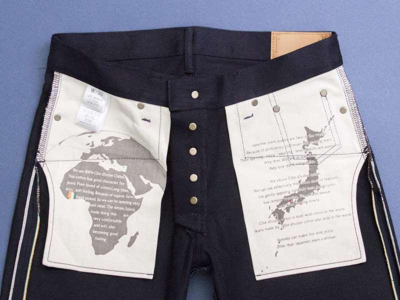 Japan Blue x Tenue de Nîmes Côte d'Ivoire Cotton 'Indigo x Black' Jeans long john blog collab selvage selvedge 2016 limited edition special japan (7)