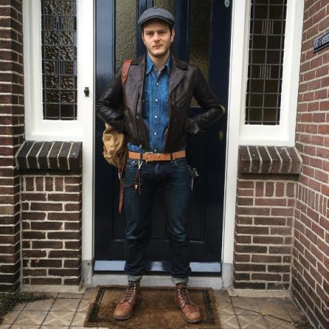 Jerry van Vorstenbos lvc long john blog denim collector red wing levi's jeans vintage clothing bing crosby (1)