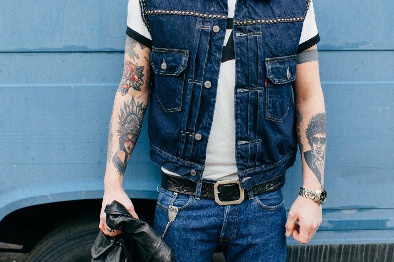 Jerry van Vorstenbos lvc long john blog denim collector red wing levi's jeans vintage clothing bing crosby (2)