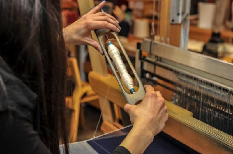 Le Mani by Manifattura 1887 long john blog denim jeans handmade shuttle loom blue indigo selvage selvedge (13)