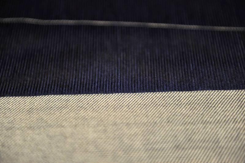 Le Mani by Manifattura 1887 long john blog denim jeans handmade shuttle loom blue indigo selvage selvedge (2)