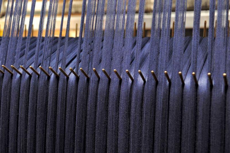 Le Mani by Manifattura 1887 long john blog denim jeans handmade shuttle loom blue indigo selvage selvedge (5)