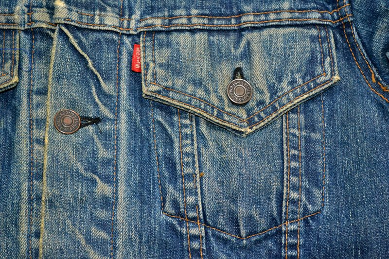 Levi's jeans big e vintage long john blog collector jacket jack big e bikers biker usa red tab we are 501 live in levi's blue denimarchive (3)