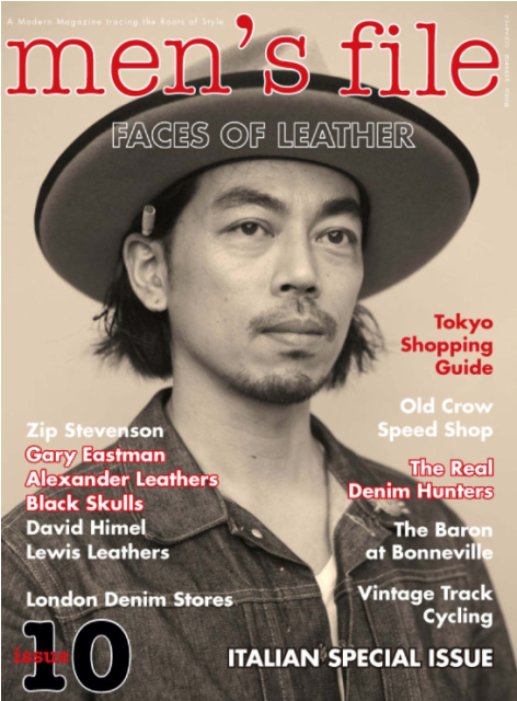 Men's File number 10 uk long john blog magazine #10 clutch magazine heritage authentic special edition photography jeans denim footwear boots seamen  (1)