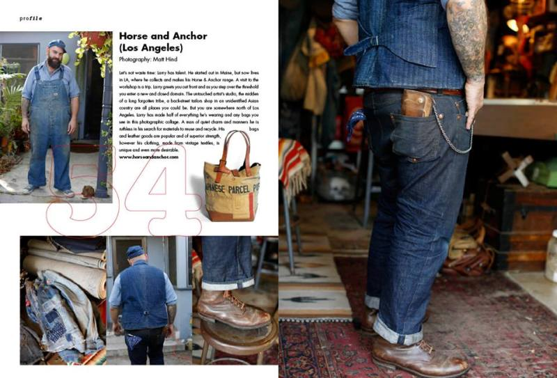 Men's File number 10 uk long john blog magazine #10 clutch magazine heritage authentic special edition photography jeans denim footwear boots seamen  (2)