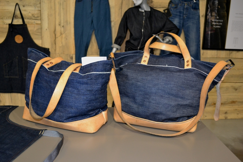 Mike van der Zanden Jean School - Lois Jeans Store Eindhoven long john blog denim expo jeans dutch design week ddw 2014 sneak preview handmade items limited editions blue raw rigid selvage selvedge dyemond goods bags ( (10)