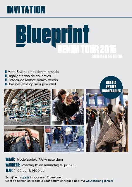 Modefabriek Retail Tour long john blog modefabriek amsterdam fair denim jeans blue indigo butts and shoulders summer 2015 selvage selvedge worn-out fabric