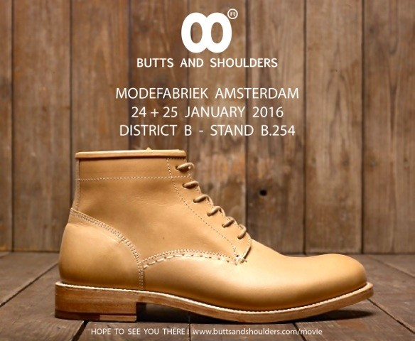 Modefabriek Winter 2016 long john blog butts and shoulders goodyear welted boots footwear portugal handmade handnumbered limited natural vegetable tanned leather leer