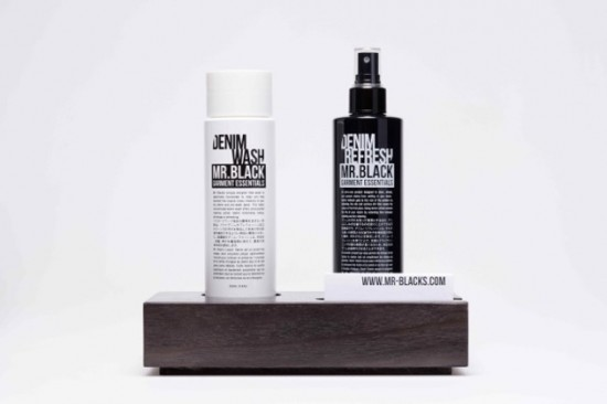 Mr. Black Garment Essentiel Denim Wash Denim Refresh bottle white black jeans denim cleaner Mar Bertens LONG JOHN (7)