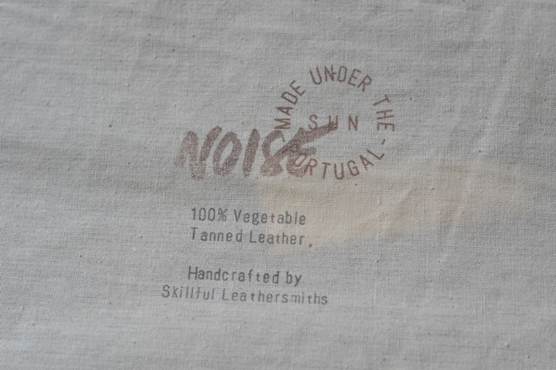 Noise goods indigo folio A4 clutch long john blog blue portugal natural tanned leather handmade europe denim jeans new paper bag big wallet canvas wool inner pocket (3)