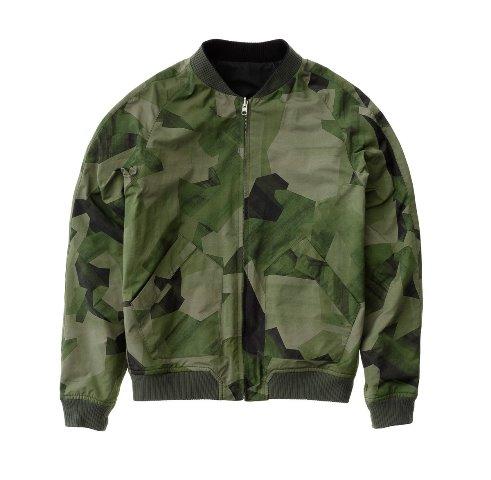 Nudie Jeans Brook Jacket Black And Camo Black long john blog denim jeans sweden jacket spring summer 2016 indigo (2)