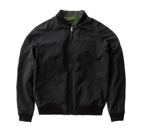 Nudie Jeans Brook Jacket Black And Camo Black long john blog denim jeans sweden jacket spring summer 2016 indigo (5)