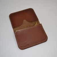 Obbi Good Label (Brave) wallet brown horween leather usa collab singapore LONG JOHN (3)