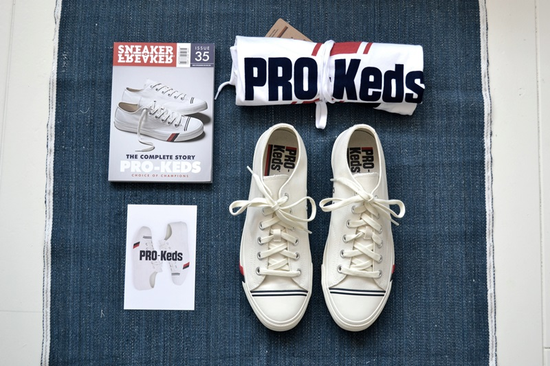 PRO-Keds long john blog sneakers keds usa america old school white canvas classic red blue jeans denim bos group holland seedingbox bloggers media shirt tshirt (6)