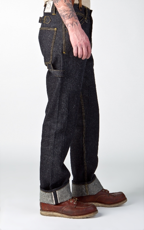 Pike Brothers 1908 Miner Pant Indigo Hemp Denim 14oz longjohn denim jeans long john blog blue selvage selvedge pants pant pantalon miners usa gold rush (2)