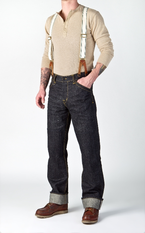 Pike Brothers 1908 Miner Pant Indigo Hemp Denim 14oz longjohn denim jeans long john blog blue selvage selvedge pants pant pantalon miners usa gold rush (5)