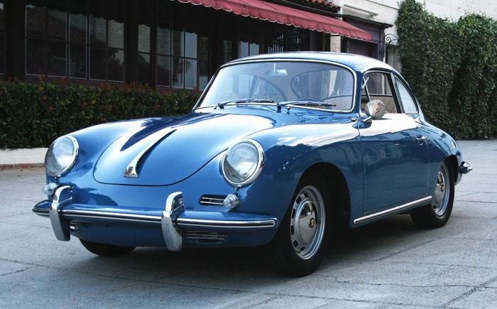 Porsche 356c Coupe 1964 Long John Blog Blue Vintage Old Cars Sea