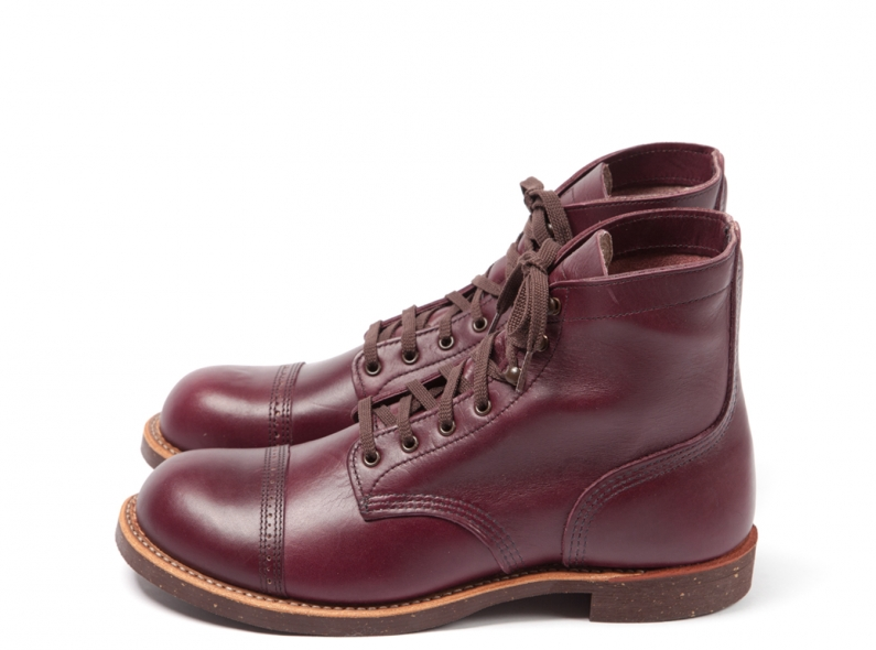 Red Wing Shoes 8012 Munson Ranger Burgundy Settler long john blog usa boots goodyear welted handmade army miners leather tanned 2014 spring summer  (2)