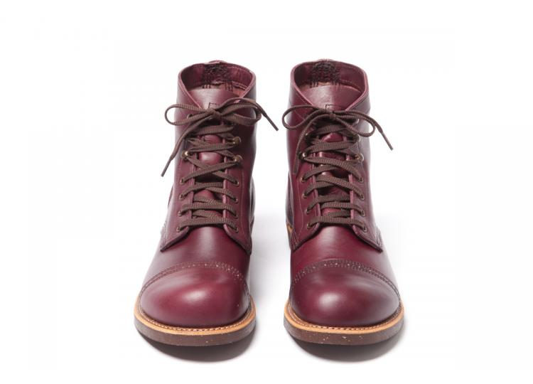 Red Wing Shoes 8012 Munson Ranger Burgundy Settler long john blog usa boots goodyear welted handmade army miners leather tanned 2014 spring summer  (3)