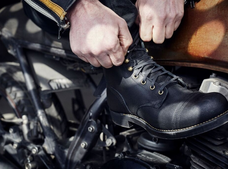 Red-Wing-Wrenchmonkees-boots long john blog collab usa workwear black bikers bikes usa goodyear welted rough leather limited 666 pairs only 2015 denmark  (2)