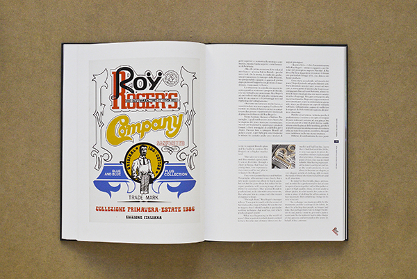 Roy Rogers Jeans denim lookbook historie book Italy vintage denim authentic LONG JOHN (11)