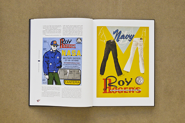 Roy Rogers Jeans denim lookbook historie book Italy vintage denim authentic LONG JOHN (8)