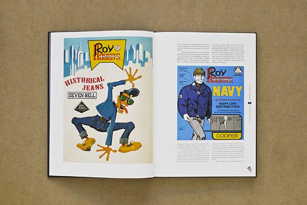 Roy Rogers Jeans denim lookbook historie book Italy vintage denim authentic LONG JOHN (9)