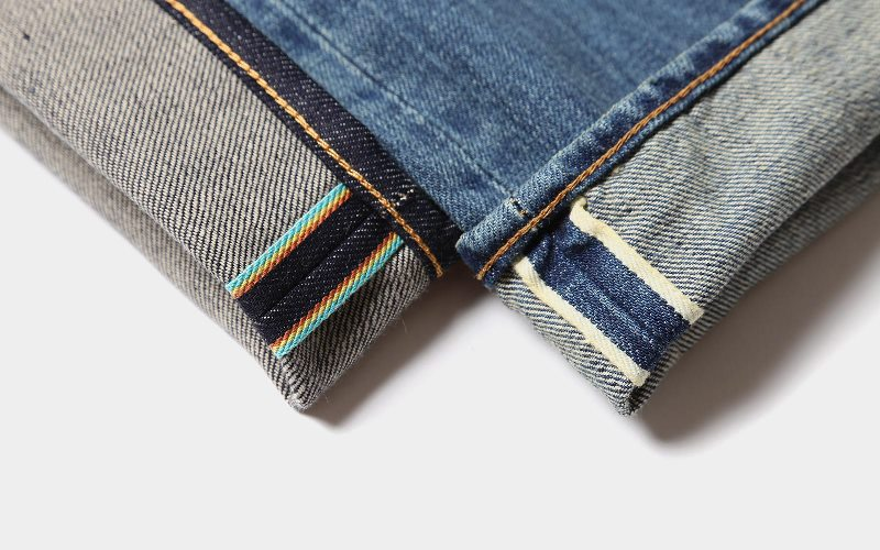 Selvage, Selvedge, Self Edge edwin jeans japan long john blog denim blue indigo shuttle loom authentic old school blue gold (4)