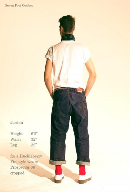 Seven Foot Cowboy denim jeans new brand UK clothing LONG JOHN (4)