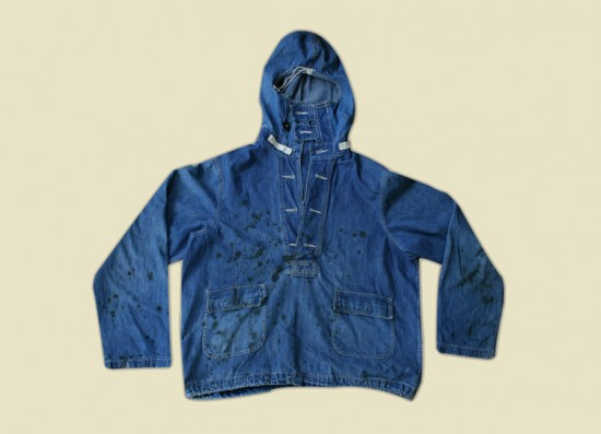 Some select items from the 4000 piece vintage collection in the Nigel Cabourn studio clothing vintage uk LONG JOHN (2)